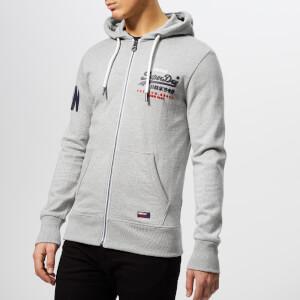Superdry Men's Premium Gds Tri Lite Zip Hoody - Varsity Grey Grit