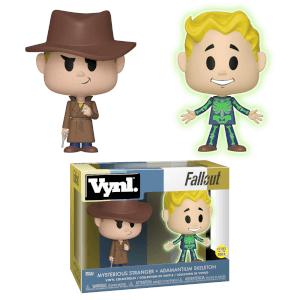 Figura Funko Vynl. - Adamantio y Hombre Misterioso - Fallout