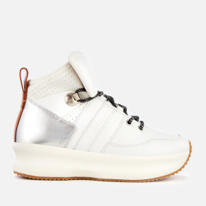 See By Chloé Women's Casey High Top Lace Up Trainers - White