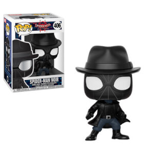Figura Funko Pop! - Spider Man Noir Con Sombrero - Marvel Animated Spider-Man