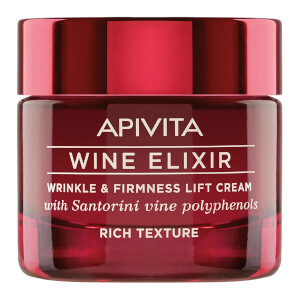 APIVITA Wine Elixir Wrinkle & Firmness Lift Cream -voide 50ml, Rich Texture