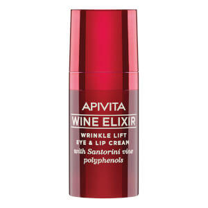 APIVITA Wine Elixir Wrinkle Lift Eye & Lip Cream 15 ml