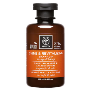 APIVITA Holistic Hair Care Shine & Revitalising Shampoo - Orange & Honey 250 ml