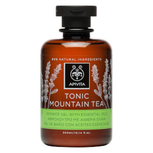 APIVITA Tonic Mountain Tea Shower Gel with Essential Oils 300ml