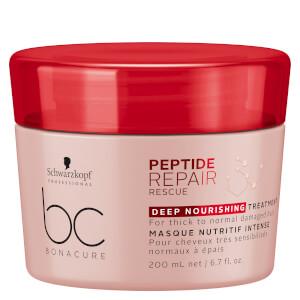 Schwarzkopf Professional BC Peptide Repair Rescue Deep Nourishing Treatment 200ml