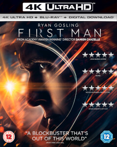 First Man - 4K UltraHD (Includes Digital Copy)