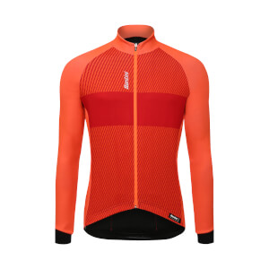 Santini Colle Long Sleeve Jersey - Orange