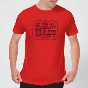 Camiseta American Horror Story Cabinet Of Curiosities - Hombre - Rojo