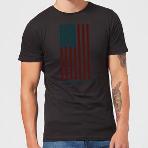 Camiseta American Horror Story Colour Flag Skulls Vertical - Hombre - Negro