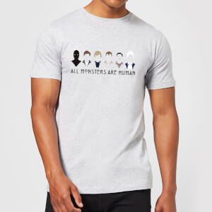 American Horror Story All Monsters Are Human Lineup Men's T-Shirt - Grey