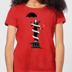 American Horror Story Umbrella Nun Damen T-Shirt - Rot