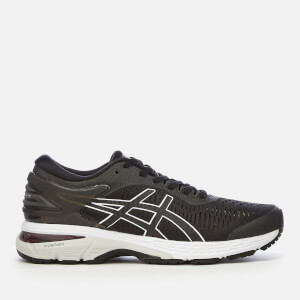 Asics Women's Running Gel-Kayano 25 Trainers - Black/Glacier Grey