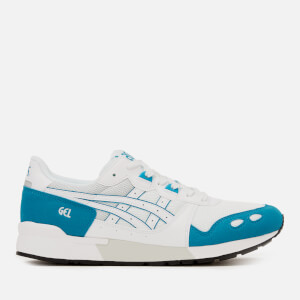 Asics Men's Lifestyle Gel-Lyte Trainers - White/Teal Blue