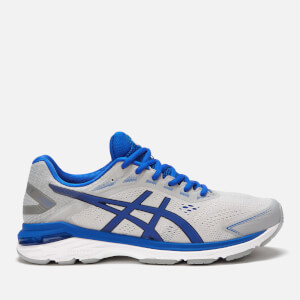 Asics Men's Running Gt-2000 7 Lite Show Trainers - Mid Grey/Illusion Blue