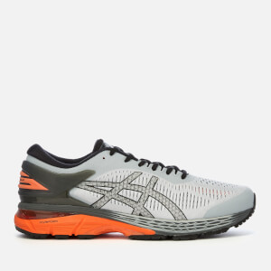 competitive price fd752 1a504 Asics Men s Running Gel-Kayano 25 Trainers - Mid Grey Red Snapper