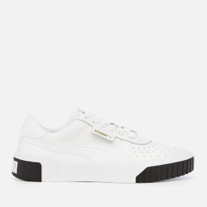 Puma Women's Cali Trainers - Puma White/Puma Black