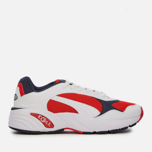 Puma Men's Cell Viper Trainers - Puma White/High Risk Red
