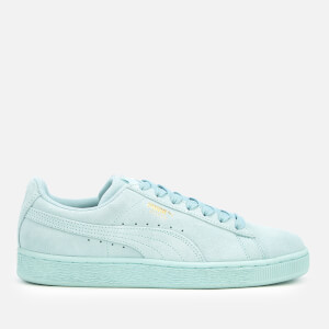 Puma Suede Classic Trainers - Light Sky/Puma Team Gold