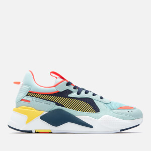 Puma Men's Rs-X Reinvention Trainers - Whisper White/Red Blast