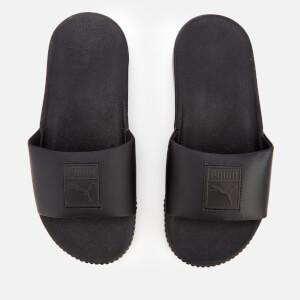 Puma Women's Platform Slide Sandals - Puma Black/Puma Black