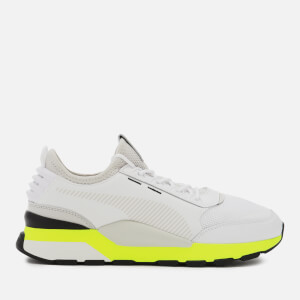 Puma Men's RS-0 Tracks Trainers - Puma White/Fizzy Yellow