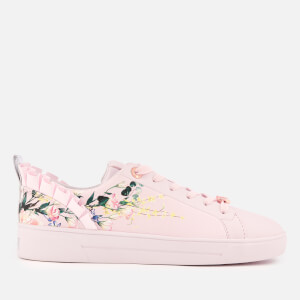 Ted Baker Women's Astrna 2 Leather Fill Low Top Trainers - Elegant Pink