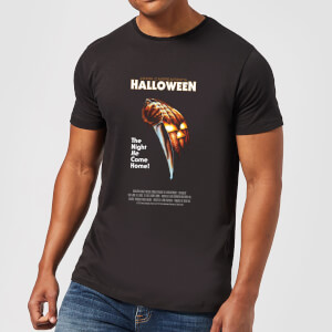 Halloween Poster Men's T-Shirt - Black