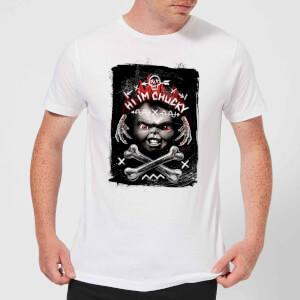T-Shirt Homme Hi I'm Chucky Chucky - Blanc