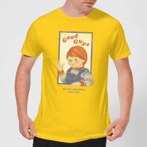 Camiseta Chucky Good Guys Retro - Hombre - Amarillo