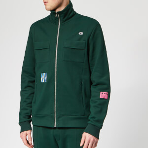 Champion X WOOD WOOD Men's Tony Full Zip Sweatshirt - Green