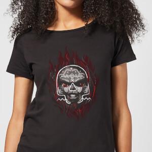 T-Shirt Femme Voodoo Chucky - Noir