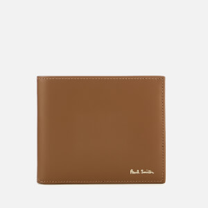 Paul Smith Men's Billfold Stripe Wallet - Tan