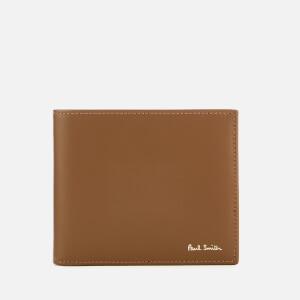 Paul Smith Men's Billfold Stripe Wallet - Tan