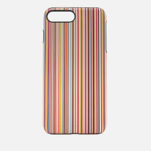 Paul Smith Men's Multi Stripe iPhone 8 Plus Case - Multi