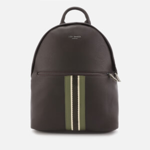 Ted Baker Men's Standin Webbing Backpack - Chocolate