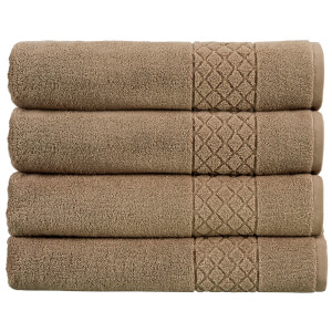 Christy Serenity 4 Piece Towel Bale Set - Cappuccino