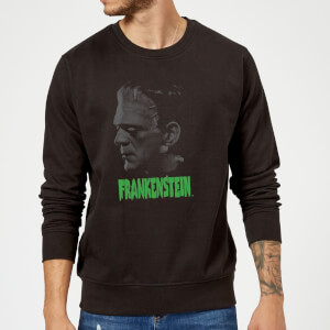 Sweat Homme Frankenstein (Tons Gris) - Universal Monsters - Noir
