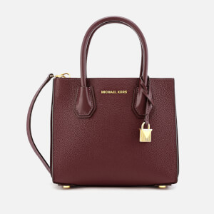 MICHAEL MICHAEL KORS Women's Mercer Accordion Messenger Bag - Oxblood