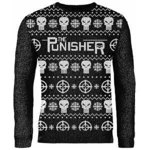 Jersey Navideño Punisher - Negro - Exclusivo Zavvi