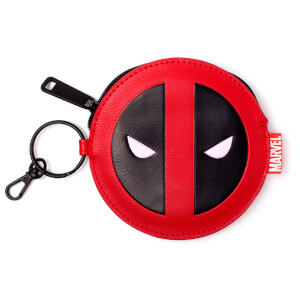 Marvel Deadpool Men's Coin Purse Wallet - Red