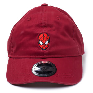 Marvel Spider-Man Men's Dad Cap - Red