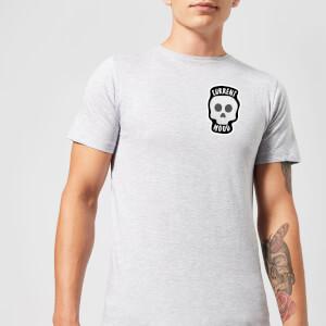 Skull Current Mood Men's T-Shirt - Grey