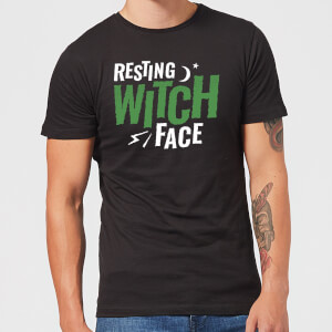 Resting Witch Face Men's T-Shirt - Black
