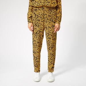 Ganni Women's Goldstone Crepe Trousers - Black