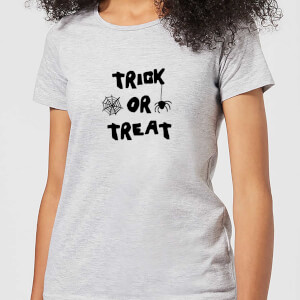 Halloween Trick or Treat Women's T-Shirt - Grey