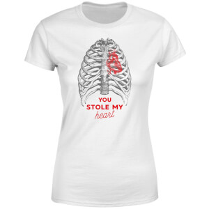 Halloween You Stole My Heart Women's T-Shirt - White