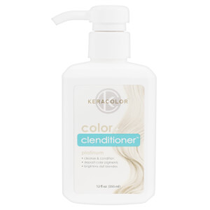 Keracolor Colour + Clenditioner - Platinum 355ml