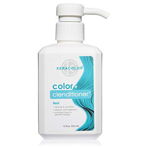 Keracolor Colour + Clenditioner - Teal 355ml