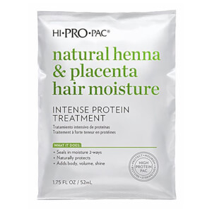 HI PRO PAC Henna Placenta and Vitamin E Protein Treatment 52ml