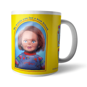 Taza Chucky Good Guys Retro
